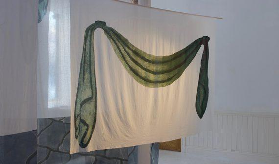 Watra, installation at Departure Lounge Gallery © Karolina Lebek 2018
