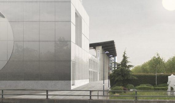 Image: MK Gallery expansion visualisation. Image courtesy of 6a architects