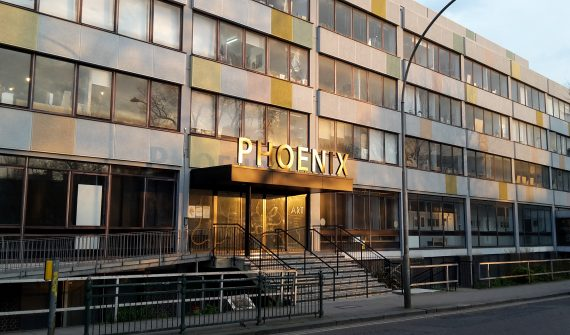Phoenix building photographed by Mike Stoakes