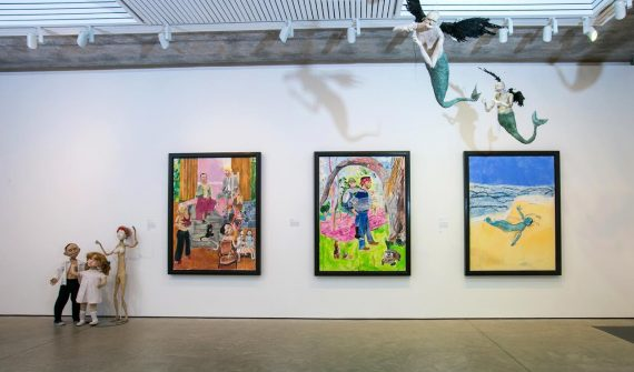 Paula Rego: The Boy Who Loved the Sea and Other Stories at Jerwood Gallery, photo: Pete Jones