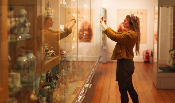 Test out Blast Theory's latest app GIFT at Brighton Museum_photo credit Blast Theory_CC BY-NC