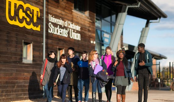 University of Chichester students' union, courtesy University of Chichester