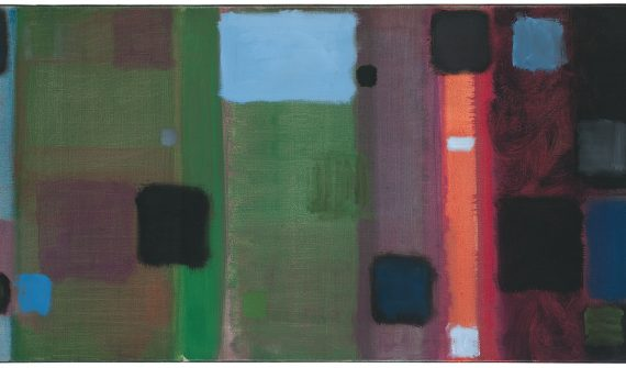 Patrick Heron, Horizontal Painting with Soft Black Squares : 1959, 1959© estate of Patrick Heron. All rights reserved, DACS 2018