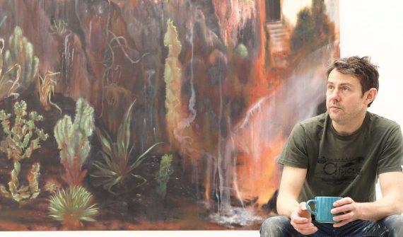 igel Cooke in his studio ©Lens & Pixel (.co.uk)