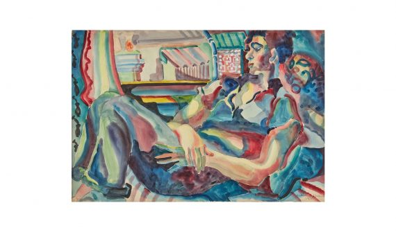 Kathleen Walne, Reclining Boy, 1935. Towner Collection. Towner Art Gallery, Eastbourne.