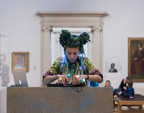 Artist Rebekah Ubuntu (pictured) courtesy of Early Years and Family, Tate London, 2019.